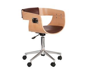Silla de escritorio - marrón