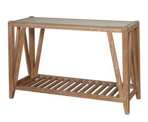 Consola en madera de roble