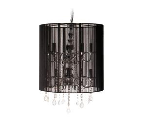 Lámpara de techo Menorca – negro