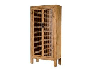 Armario de madera de pino Rejilla