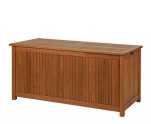 Baúl de madera  - marrón