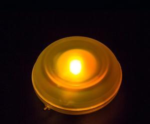 Luz LED flotante para baño