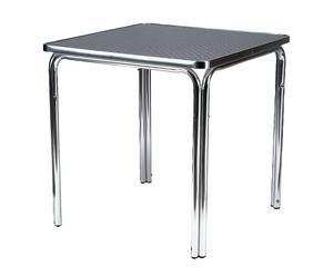 Mesa apilable de aluminio