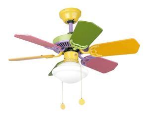 Lámpara de techo con ventilador Baby Pastel