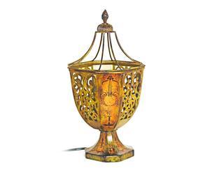 Lámpara de sobremesa de metal - Dorado envejecido