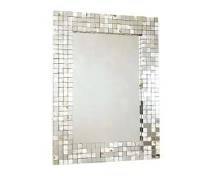 Espejo de madera conchas – Dorado