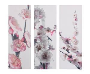 Cuadro flores japonesas