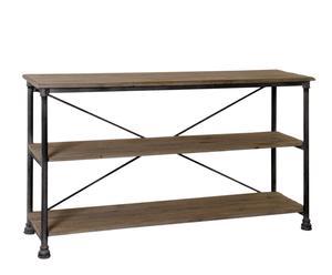 Estantería de madera de pino – rectangular