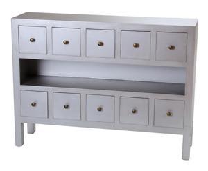 Mueble para el recibidor – plata