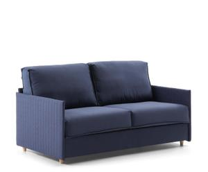 Sofá cama Creta, azul - mediano