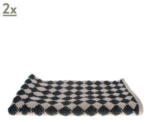 Set de 2 alfombras