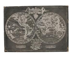 Lienzo mapamundi