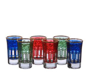 Set de 6 vasos de chupito Casbah