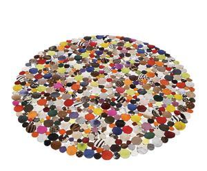 Alfombra circular – Multicolor