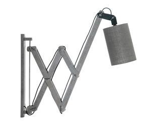 Lámpara de pared con fuelle