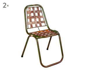 Set de 2 sillas vintage