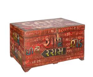 Baúl de madera de teca – multicolor
