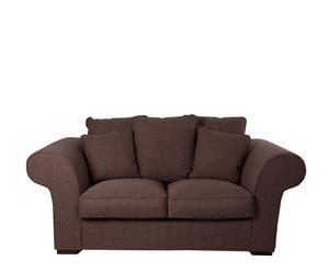 Sofá marrón – 2 plazas
