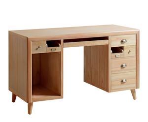 Escritorio de madera Bromo – natural