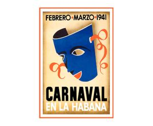 Lienzo Carnaval Habana
