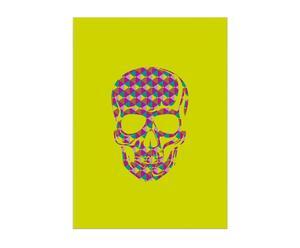 Lienzo Skull Yellow – multicolor