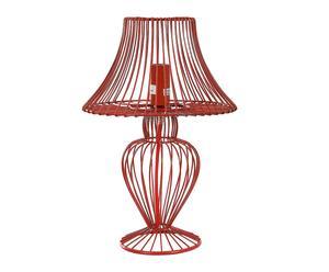 Lámpara de sobremesa – rojo
