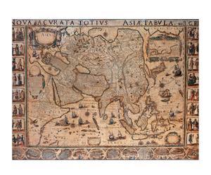 Lienzo Mapa de Asia (1644)