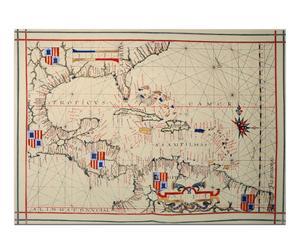 Lienzo Mapa naútico de América (1575)