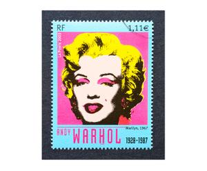 Cuadro Marilyn Monroe by Andy Warhol - multicolor