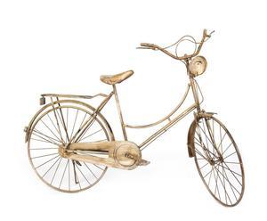 Bicicleta de metal – Cobre