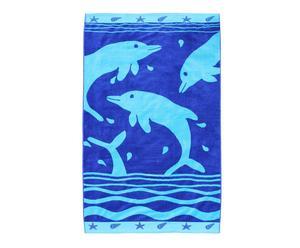 Toalla de playa de Algodón Dolphin – Multicolor