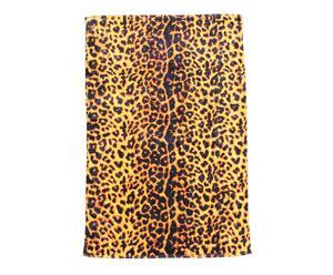 Toalla de playa de Algodón Leopardo – Multicolor