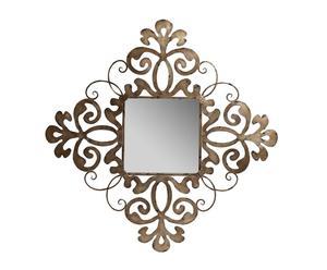 Espejo con marco de metal