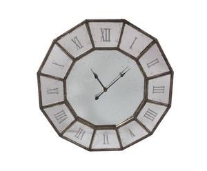 Reloj de pared de espejo y DM
