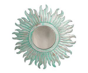 Espejo de madera DM – verde