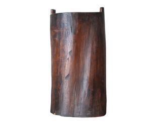 Bastonero rústico en madera – natural