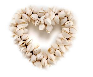 Guirnalda de Conchas Marinas Corazón