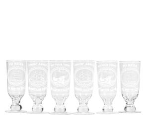 Set De 6 Vasos De Cerveza Marinos