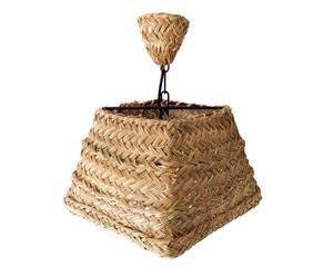 Lámpara piramidal de esparto – Ø30