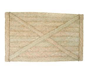 Cabecero de esparto y madera II – 70x110