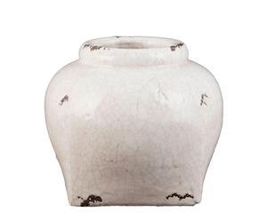 Tinaja en cerámica envejecida Wells – grande