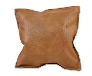 Cojín de cuero Holy – marrón claro