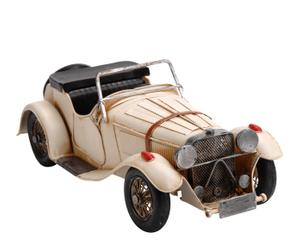 Coche de metal Morgan – blanco