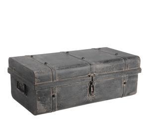 Baúl de metal – gris