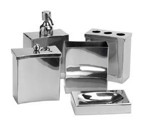 Set de 5 accesorios de baño