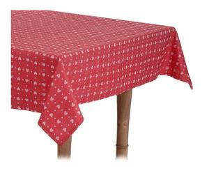 Mantel de poliéster, rojo - 150x250cm