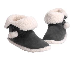 Zapatillas de poliéster, antracita - 39/40