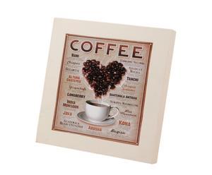 Caja de madera para cápsulas de café
