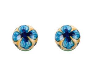 Set de 2 tiradores en cerámica y metal XX – multicolor