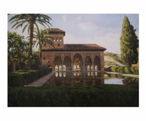 "Óleo ""La Alhambra III, Granada"""